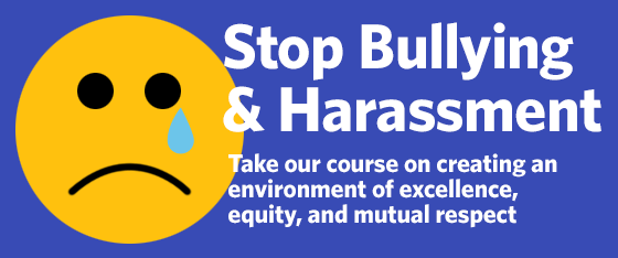 Stop Bullying and Harrassment
